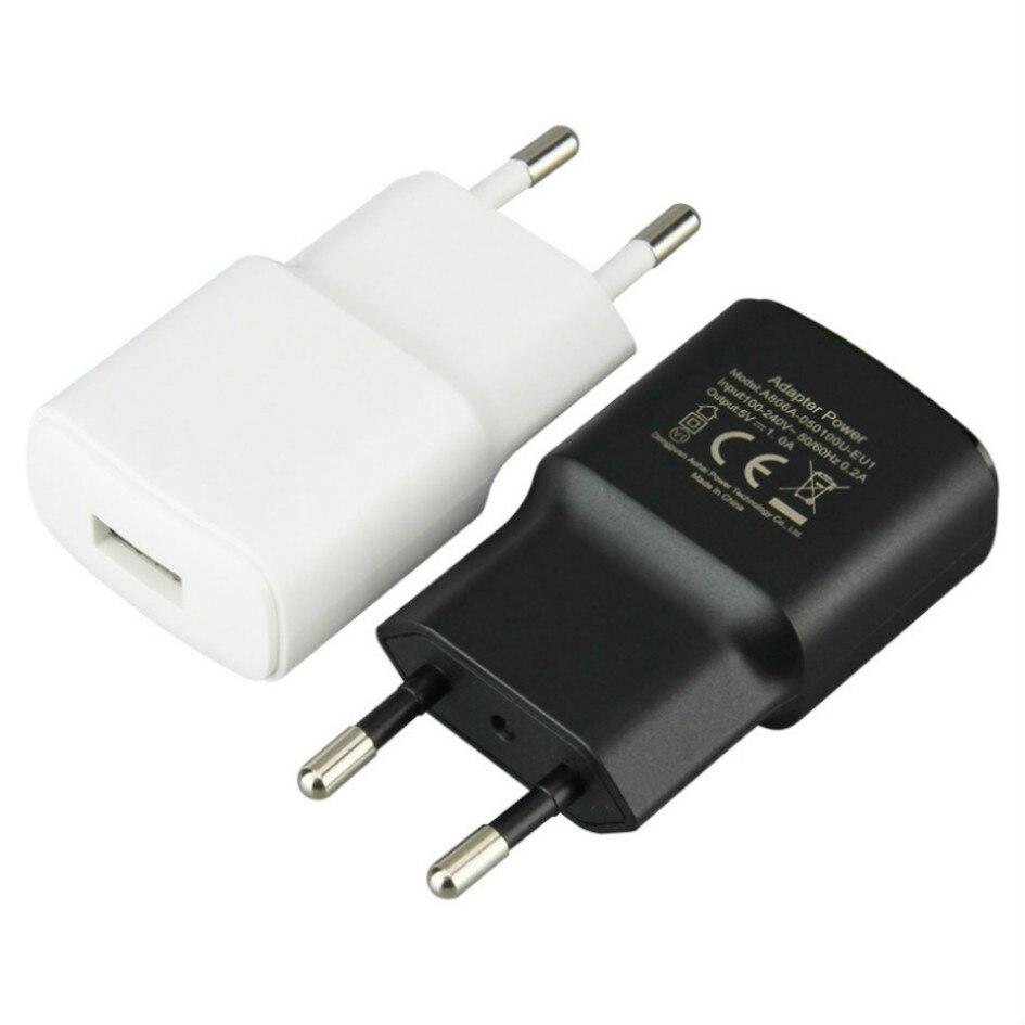 شاحن حائط USB للهاتف الخلوي ، 5 فولت ، 1 أمبير ، محول قابس الاتحاد الأوروبي ، متوافق مع iPhone X ، 11 Pro ، 8 ، 7 ، Samsung S9 ، Huawei ، Xiaomi mi6 ، 1000 قطعة