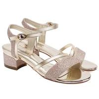 new fashion high quality women sandals open toe high heels sandals women platform women shoes pu leather women shoes 3 8691