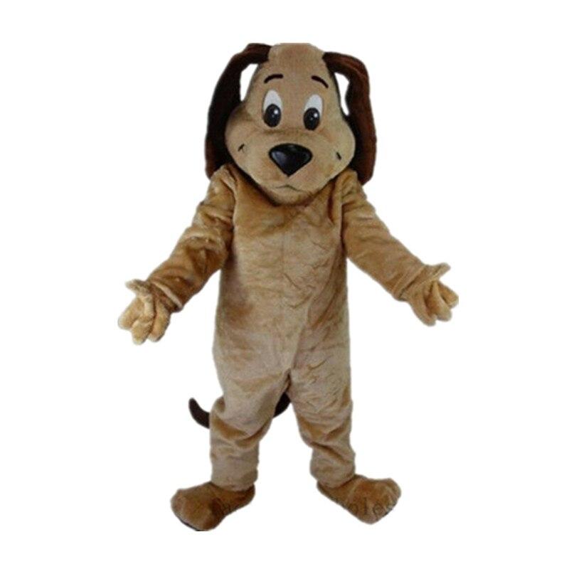 2019 caliente Tan disfraz de Mascota de perro Animal Fiesta Temática vestido de Cosplay hecho a mano regalo interesante personaje de dibujos animados personaje ropa regalo