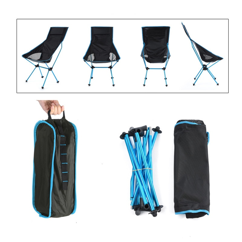 archpole стул chocolate moon Стул Moon Chair, откидное кресло, большой Расширенный уличный складной стул для рыбалки из алюминиевого сплава с подушкой