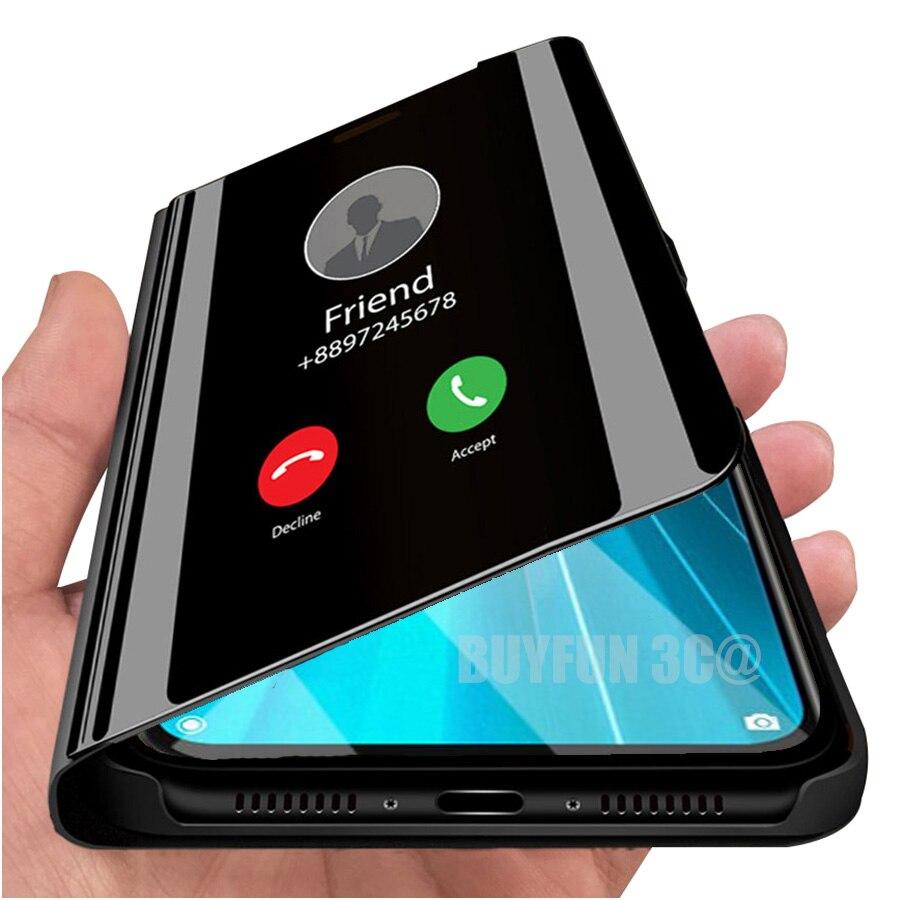 Espejo inteligente caso Redmi note 8 pro 8t protección completa para xiaomi redmi note 7 protector de silicona xiami xiomi redmi 7a 7 coque fundas