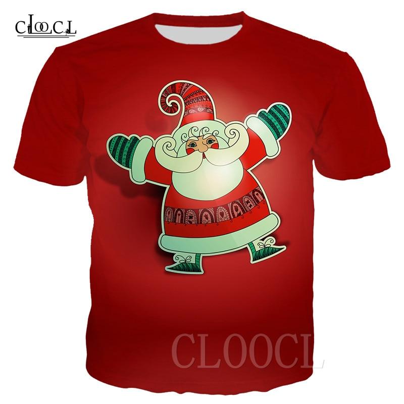 Divertida Cola Santa padre Navidad rojo camiseta divertida Navidad camiseta Feliz Navidad Santa Claus camisa para hombres mujeres camiseta jersey