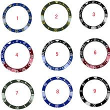 38mm bague de montre en céramique lunette insérer anneau pour Rolex GMT montre 40mm boîtier montre accessoires