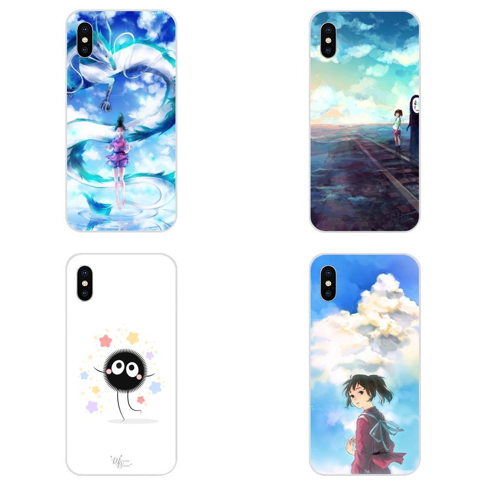 For Huawei P7 P8 P9 P10 P20 P30 Lite Mini Plus Pro Y9 Prime P Smart Z 2018 2019 Cell Phone Case Japan Anime Totoro Spirited Away