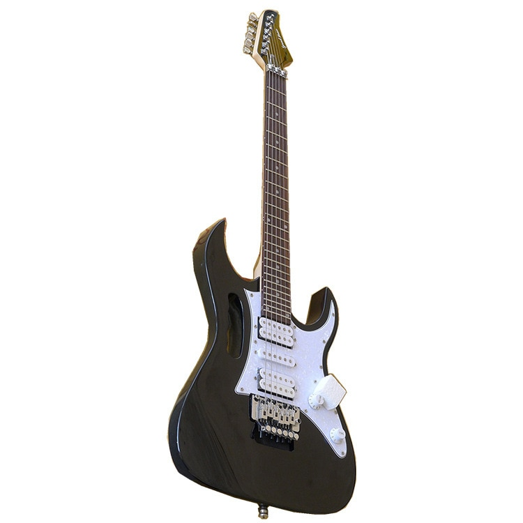 Aesthetic Wood Electric Guitar Trainer Gifts Solid Rosewood Electric Acoustic Guitar Chitarra Elettrica Music Guitars DL6DJT enlarge
