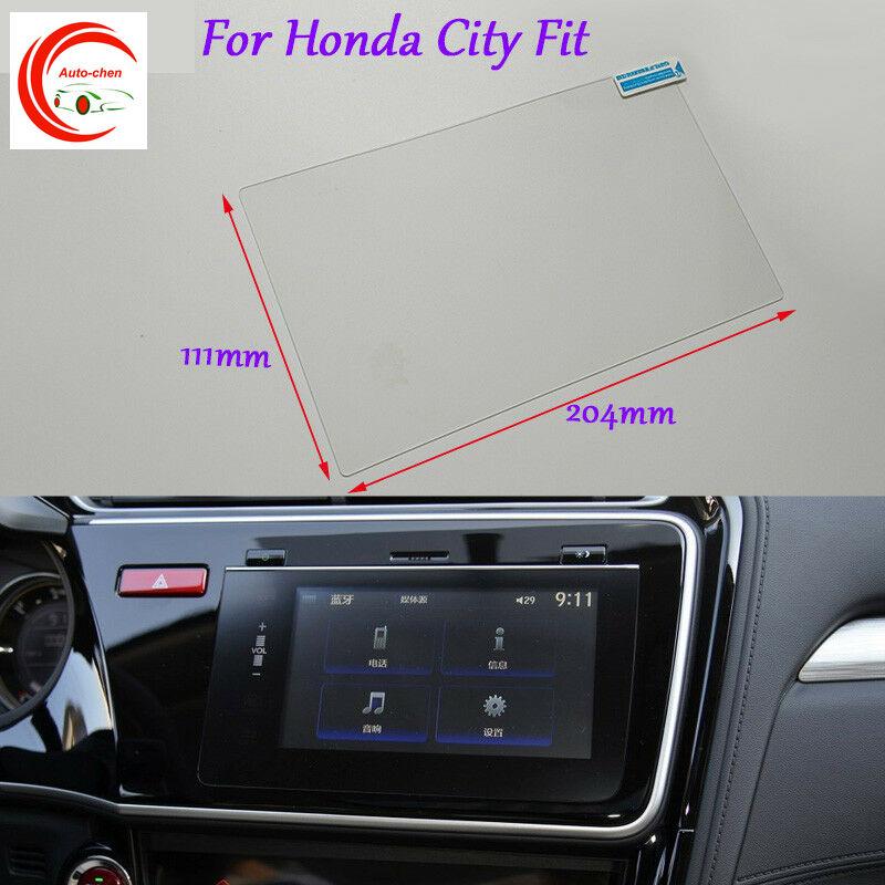 Прозрачная защитная пленка для экрана GPS навигатора автомобиля Honda City, 8 дюймов, аксессуары для интерьера