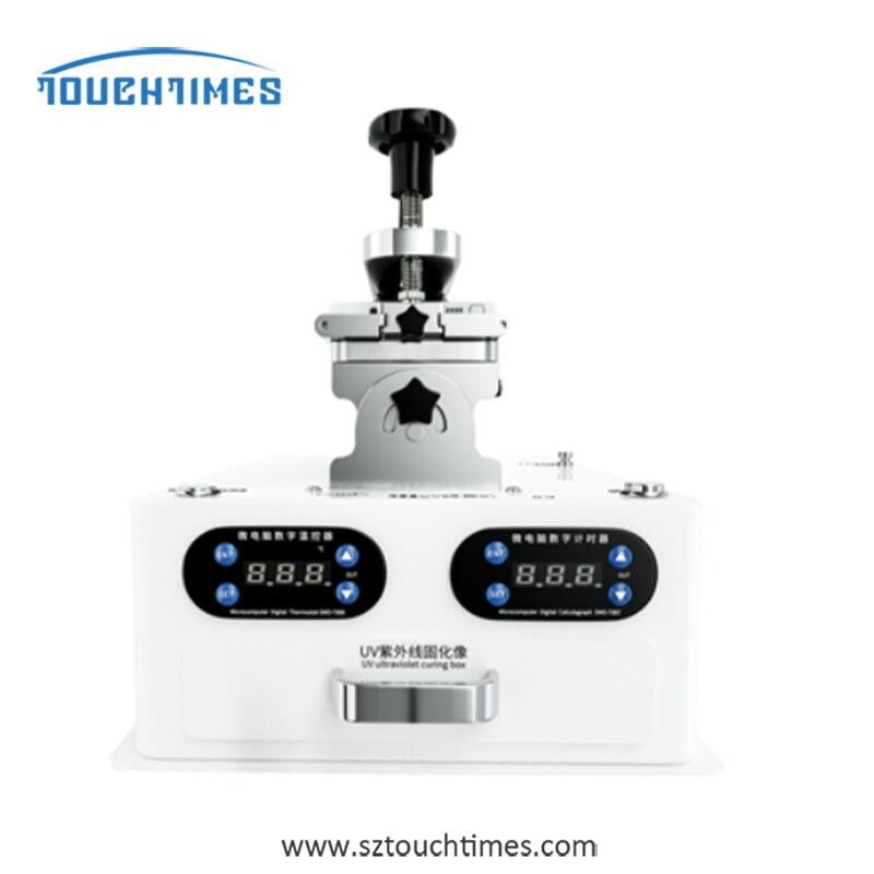 TBK-258UV متعددة الوظائف 5 في 1 LCD غطاء شاشة فاصل إطار آلة فصل مزيل الصمغ مع UV Cring مصباح إصلاح الهاتف
