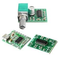 PAM8403 panneau de Module amplificateur Audio   USB à 2 canaux 3Wx2 commande de Volume, panneau damplieuse numérique Miniature 2.5V - 5V