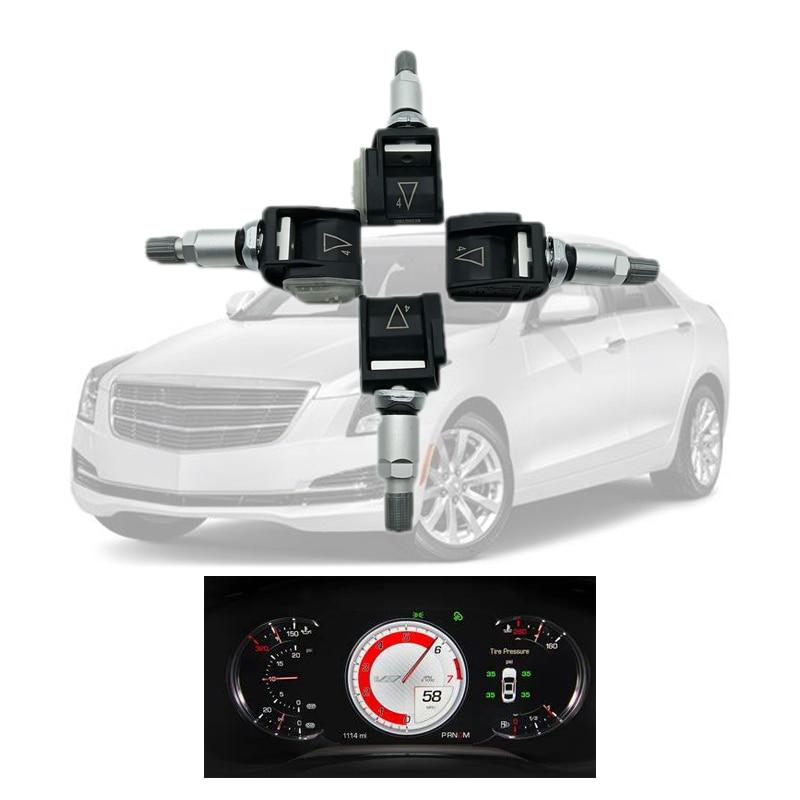 Tire Pressure Sensor For Cadillac ATS CTS 2018 2019 Chevrolet Camaro 13598787 TMPS  tire pressure monitoring system 4PCS