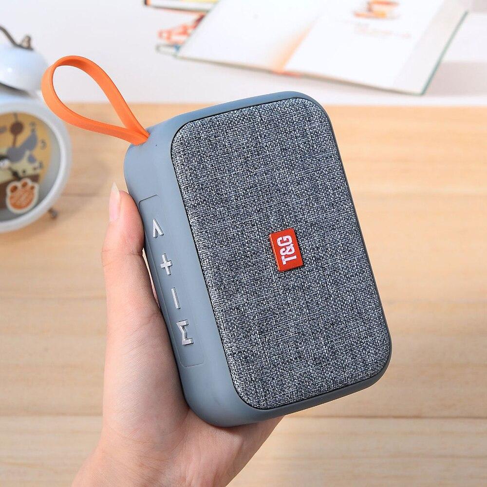 Altavoz portátil exterior TG506, Bluetooth 5,0, altavoces inalámbricos, barra de sonido Supergraves, soporte de altavoz, tarjeta TF, Radio FM, AUX HIFI