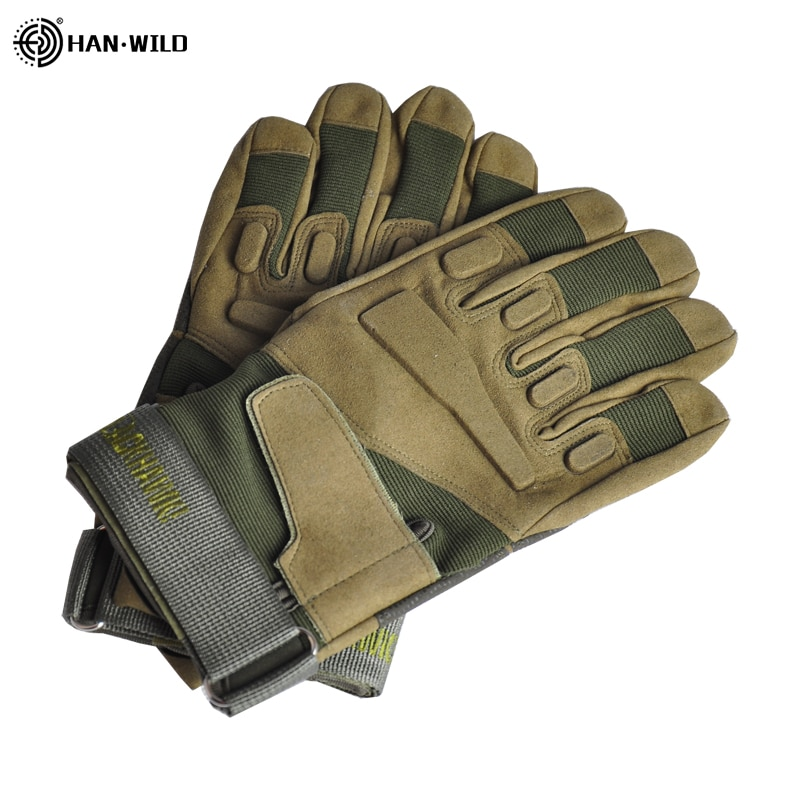 Military Tactical Gloves Climbing Fishing Outdoor Sports Army Full Finger Combat Motocycle Slip-resistant Carbon Fiber Gloves