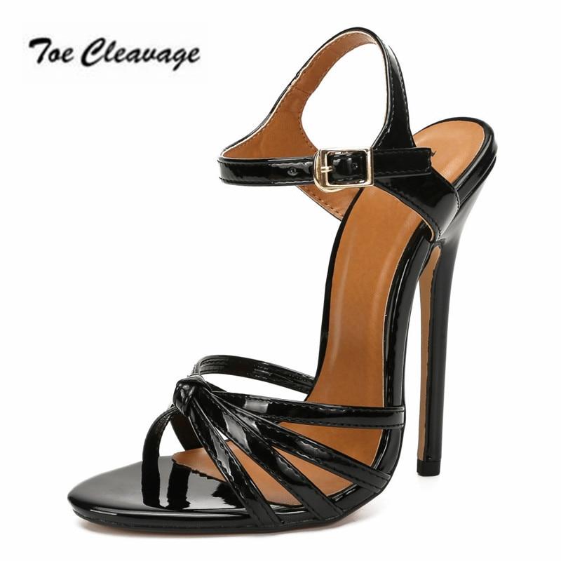 Mujer Sandalias con tacones de aguja de verano correa de tobillo Zapatos...