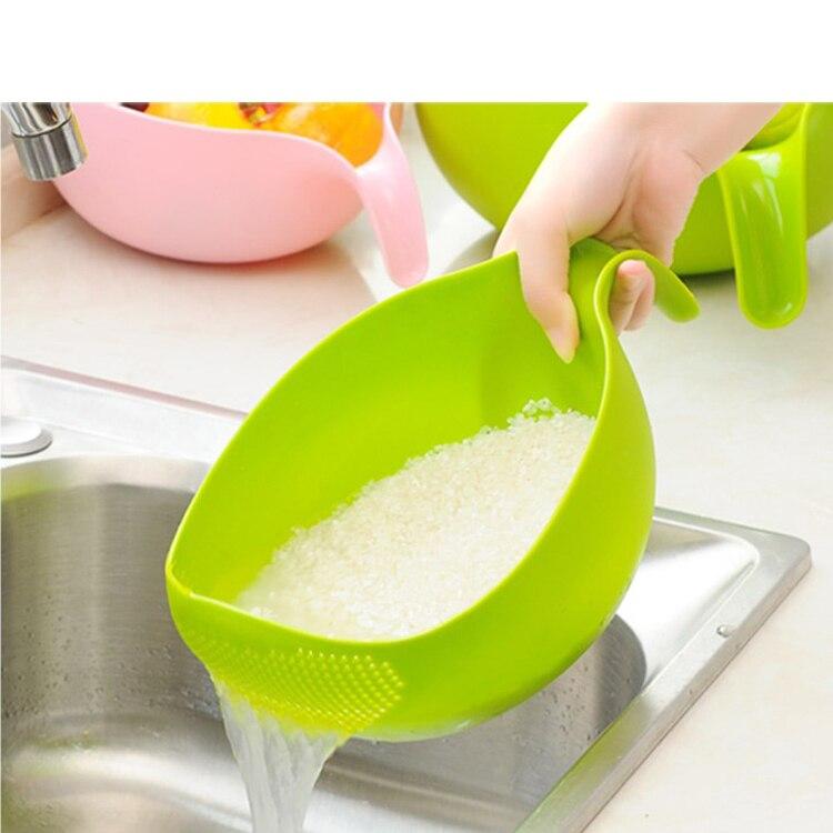 عالية الجودة منخفضة السعر المطبخ أداة مصفاة مجموعة البلاستيك المطبخ مصفاة