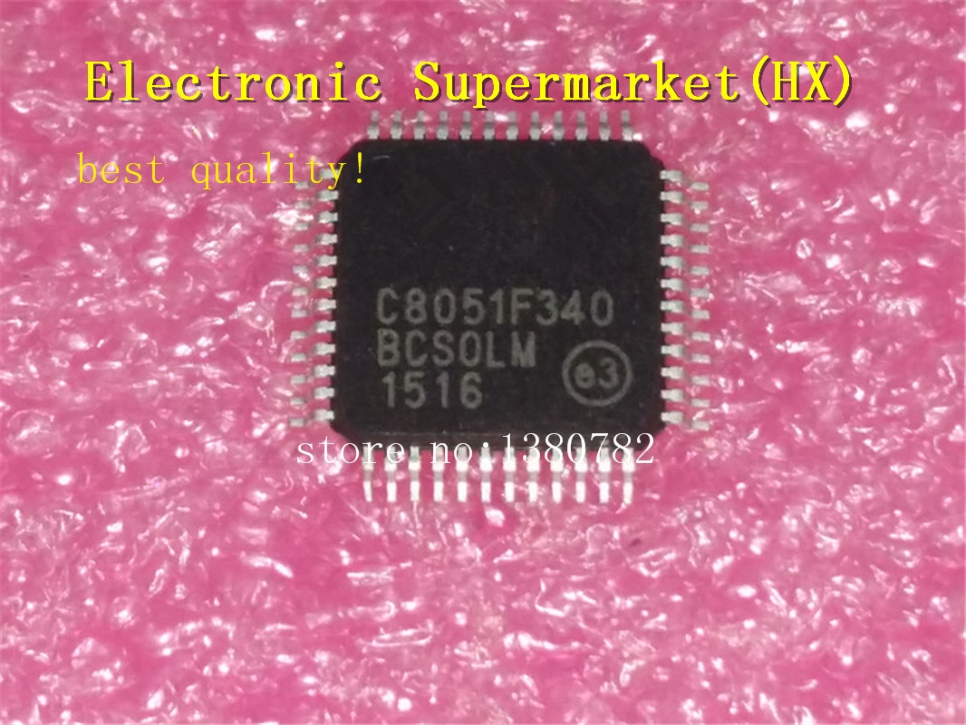 Free Shipping 50pcs/lots C8051F340  C8051F  TQFP-48  New original  IC In stock!
