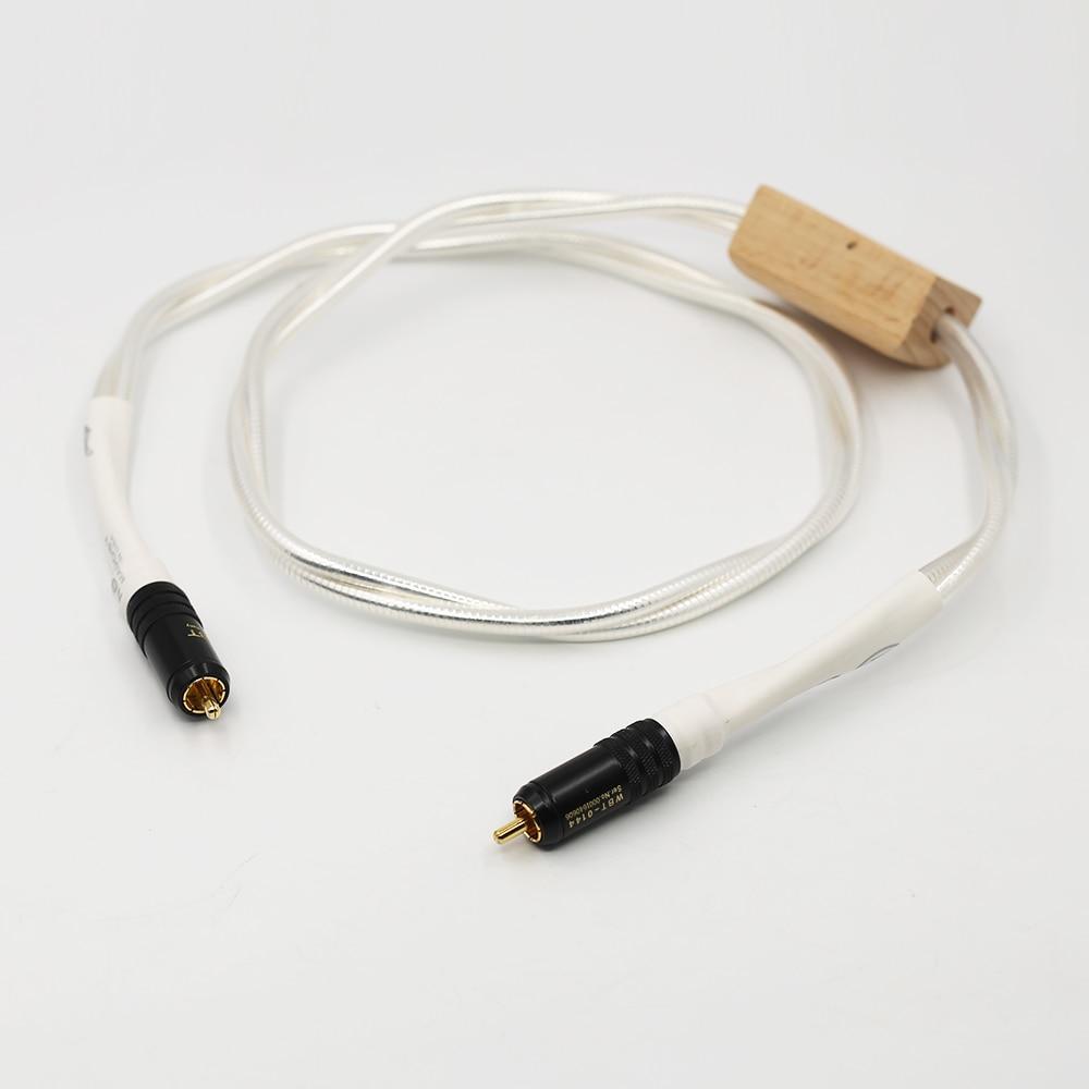 Nordost Odin كابل الصوت الرقمي المحوري مع كابل سدادة RCA مطلي بالذهب كابل الصوت الرقمي rca كابل رقمي