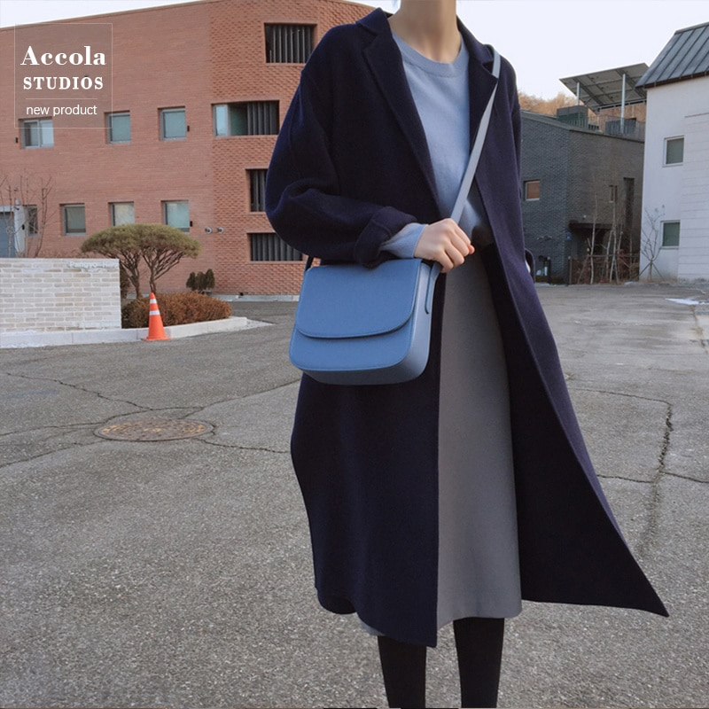 Long Sleeve T-shirt Knitted Sweater Half Skirt Suit Style Two-piece Set Female Fashion Autumn New