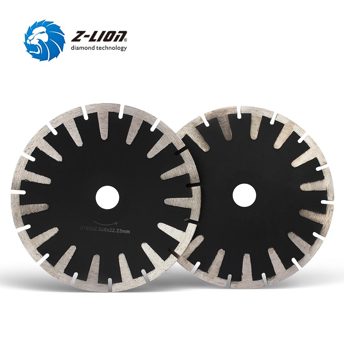 Z-lion, 1 unidad, discos de corte de Muela de Diamante de 7 pulgadas, hoja de sierra Turbo de 180mm para azulejo de porcelana cerámica, disco de diamante, taza de molienda