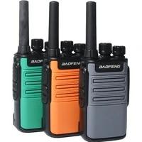 2021 baofeng mini bf v8 bfv8 two way ham cb radio handheld gray green orange intercom uhf hf fm transceiver walkie talkie 10 km