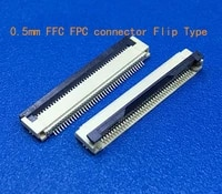 200pcs ffc fpc connector 0 5 mm 31pin bottom contact right angle smd smt zif fpc