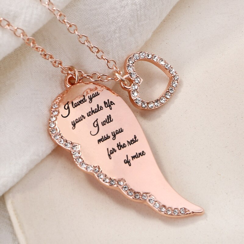 Gold Color Cubic Zirconia Love Heart Crystal Pendant Letter Name Choker Necklace Women Capital Letters Charm Jewelry