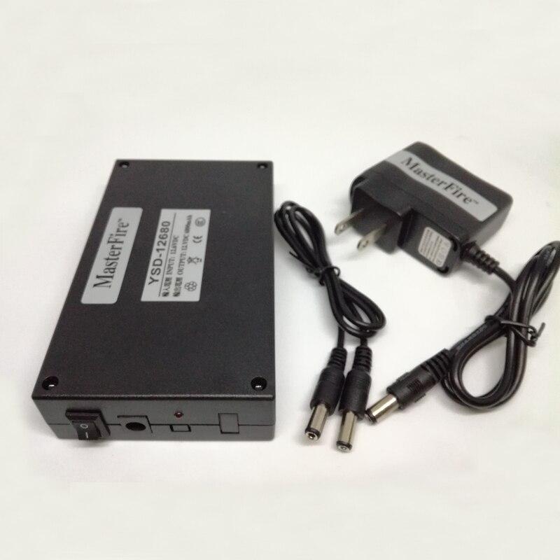20 juegos/lote MasterFire Super Capacidad 12V 6800mah batería recargable de iones de litio paquete de baterías para CCTV Cam Monitor YSD-12680