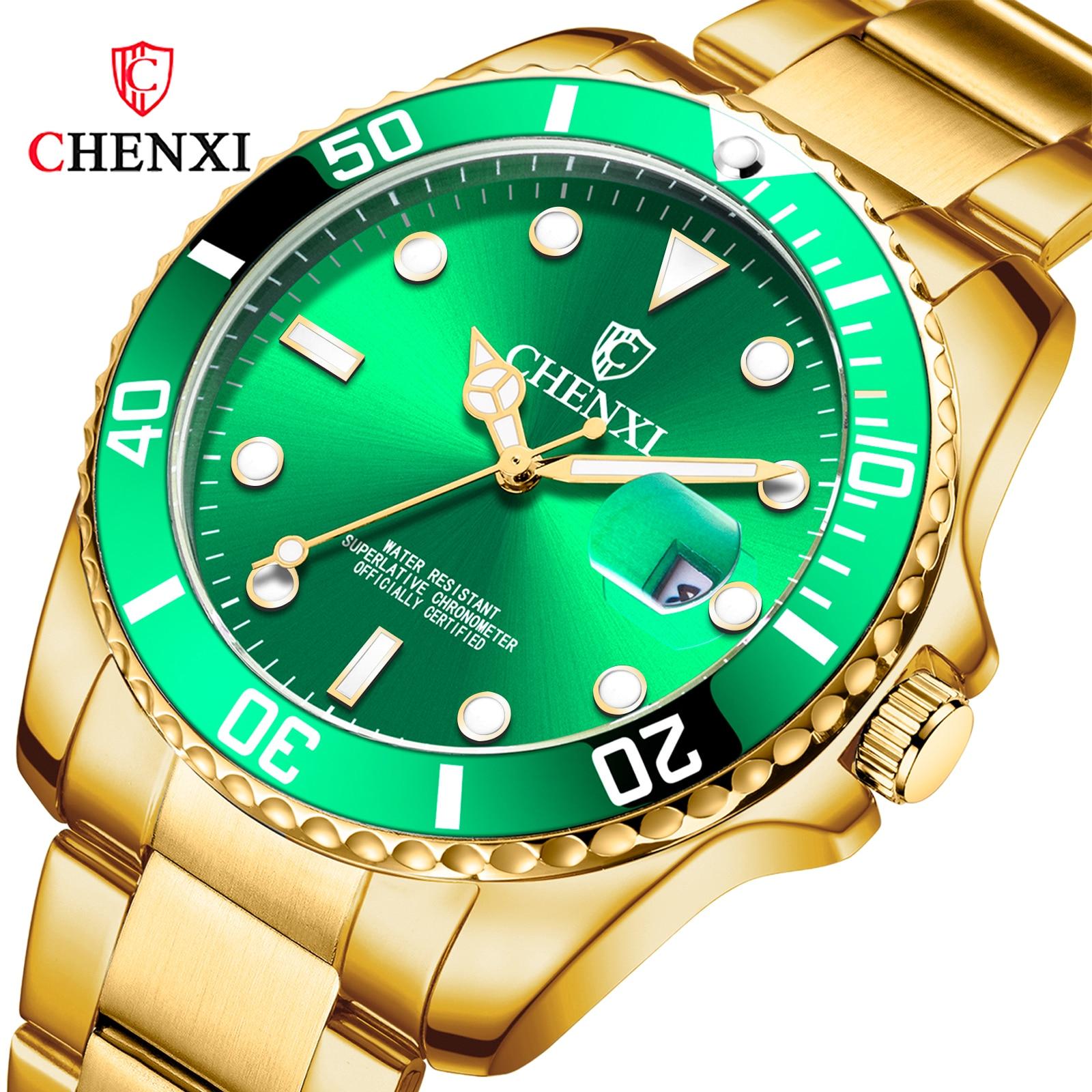 CHENXI Women Watch Top Brand Luxury Steel Strap Waterproof Ladies Wristwatches Fashion Bracelet Quartz Watches Female Clock enlarge