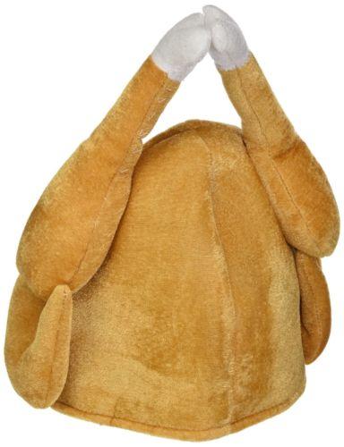 2020 New Hot Fashion Turkey Thanksgiving Hat Novelty Cooked Chicken Bird Secret Santa Fancy Dress