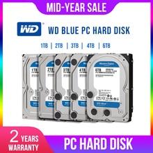 WD Western Digital Blue 1 to 2 to 3 to 4 to Hdd Sata 3.5 'Disque Dur interne Disque Dur Disque Dur de bureau HDD pour PC