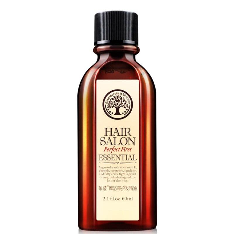 3pcs/lot 60ml Argan Oil Morocco Hair Care & Scalp Treatments Moroccan Hair Salon Essential Oil