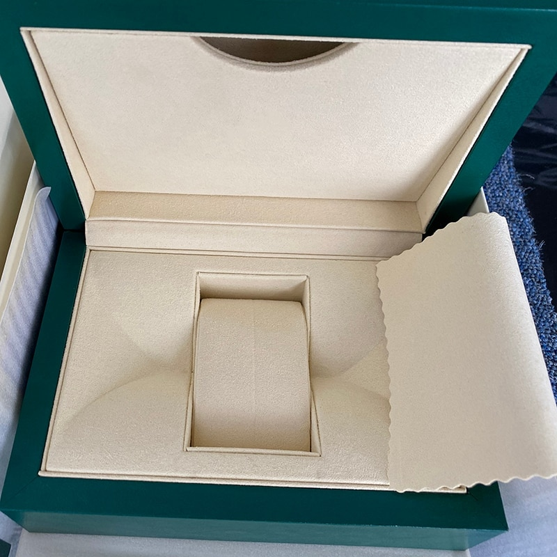 Best Quality Green Watch Original Box Papers Card Purse Gift Boxes Handbag for 116660 116710 116520 116613 118239 Watches enlarge