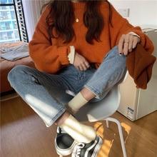 Autumn/winter High Waist Washed Jeans Women's Versatile Slim Capris Summer Student Leisure Net Red S