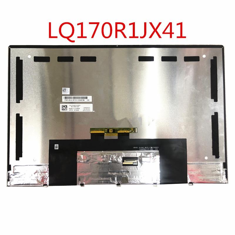 شاشة LCD تعمل باللمس بديلة ، LQ170R1JX41 LQ0DASD325 ، لجهاز DELL DP/N 07JXK8 02HD-L170UH01