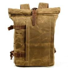 Outdoor backpack leisure fashion trend college student bag computer bag men's motorcycle backpack ti