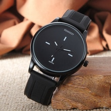 Fashionable casual women Europe and the big dial contracted Korean couples personality tide male stu