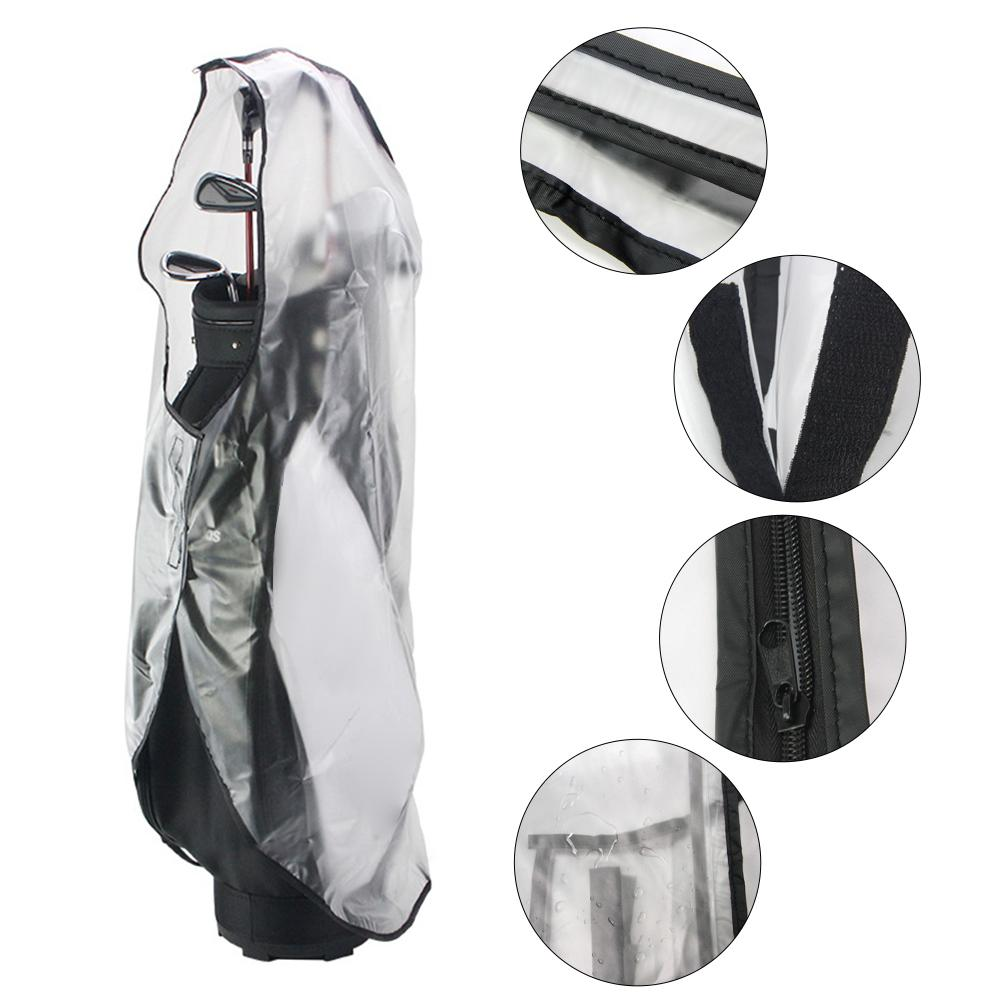 Ветрозащитный чехол от дождя, портативный чехол для гольфа, защитный чехол от дождя для мужчин и женщин, непромокаемый чехол и сумка для мяч... чехол