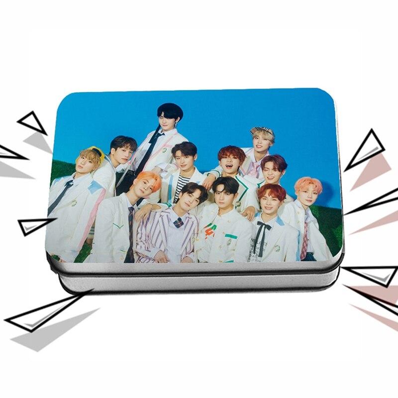 40Pcs/Set KpopTHE BOYZ Members Personal Customized Card Team Lomo Card Photocard Fans Gifts