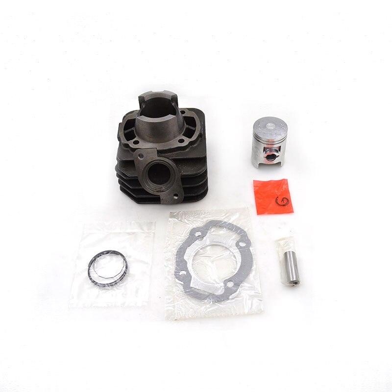 Pistón de cilindro para motocicleta Kit reconstruido extremo superior para Honda JOKER 50 SRX50 1996-1999