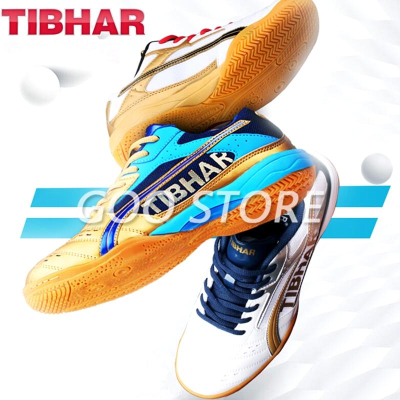 TIBHAR-أحذية تنس طاولة أصلية ، خفيفة الوزن ، مريحة ، مقاومة للاهتراء ، رياضية ، تنس الطاولة ، تنس الطاولة