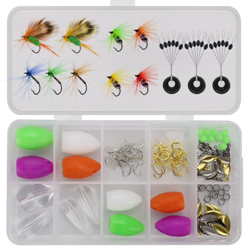 Lure Fly Fishing Bionic Bait Suit Insect Baits Including Fishing Booster