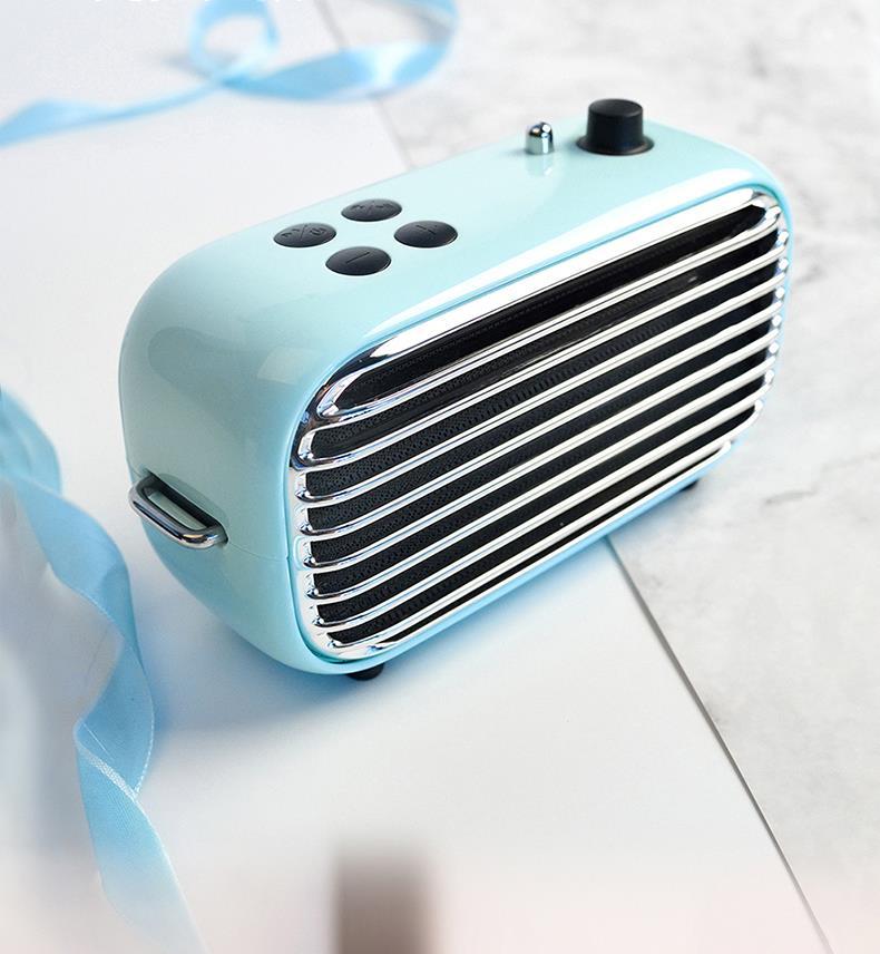 LOFREE-مكبر صوت بلوتوث لاسلكي فيم-M ، روبن بلو ، راديو FM ، محمول ، مشغل موسيقى ، مضخم صوت ، هدية للبنات