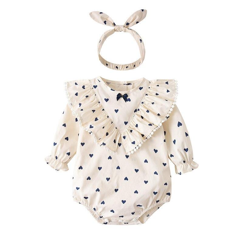 Одежда для маленьких девочек, весенне-осенняя одежда для малышей, комбинезоны для новорожденных, хлопковые комбинезоны для новорожденных, ...