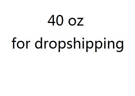 40 OZ tazas Dropshipping. Exclusivo.