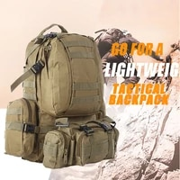 55l tactical backpack 4 in 1 military bags army rucksack backpack molle outdoor sport bag men camping hiking travel climbing bag