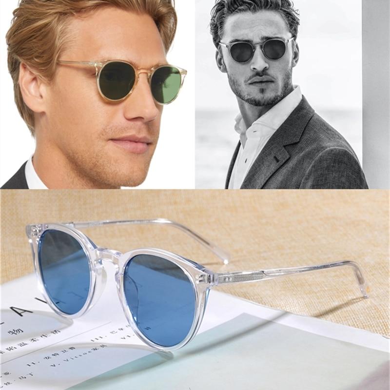 Unisex Classic Sunglasses O'malley 2020 Brand Polarized Sunglasses Men Women OV5183 Male Sun Glasses Women Oculos de sol