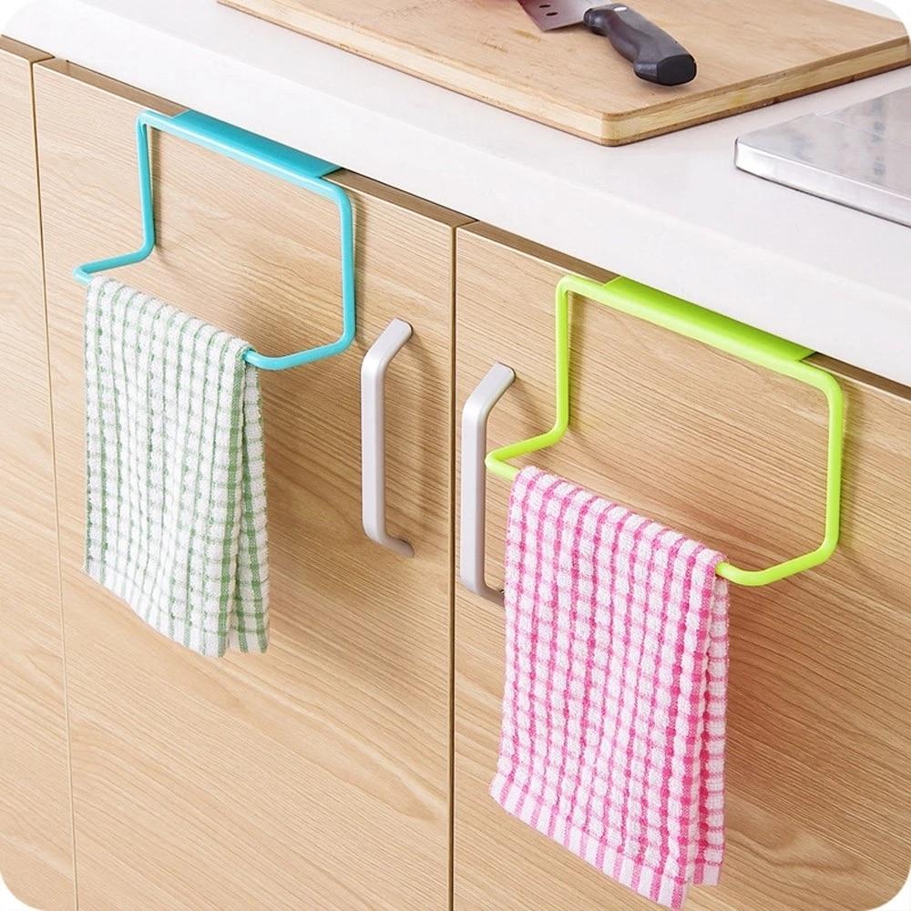 Вешалка для полотенец, подвесной держатель, органайзер для ванной комнаты, кухни, шкафа, вешалка для шкафа, вешалка для полотенец, тряпки для...