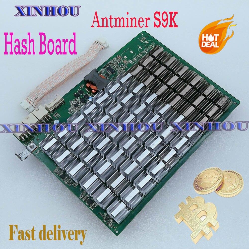 BTC BCH minero Bitmain ANTMINER S9K hash de SHA256 Asic minero bitcoin para reemplazar mal Antminer S9K parte