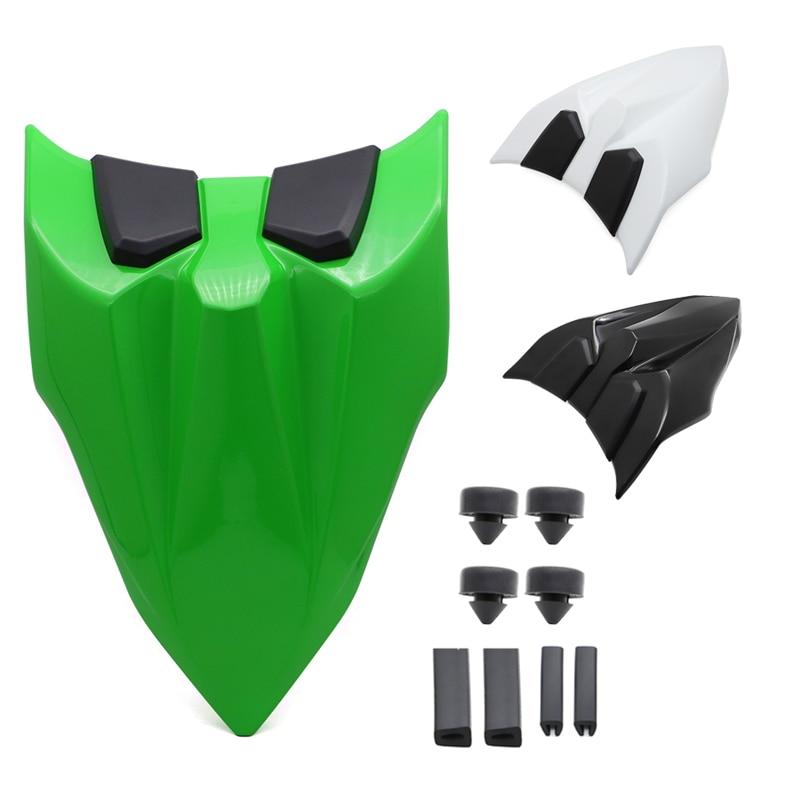 غطاء خلفي للمقعد الخلفي من Ninja 650 Z 650 غطاء خلفي للمقعد المنفرد متوافقة مع Kawasaki Ninja650 Z650 2017 2018 2019 2020 أخضر أسود