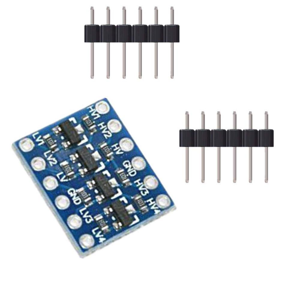 10pcs 4 Channels IIC I2C Logic Level Converter Bi-Directional Module 3.3V to 5V Shifter for Arduino