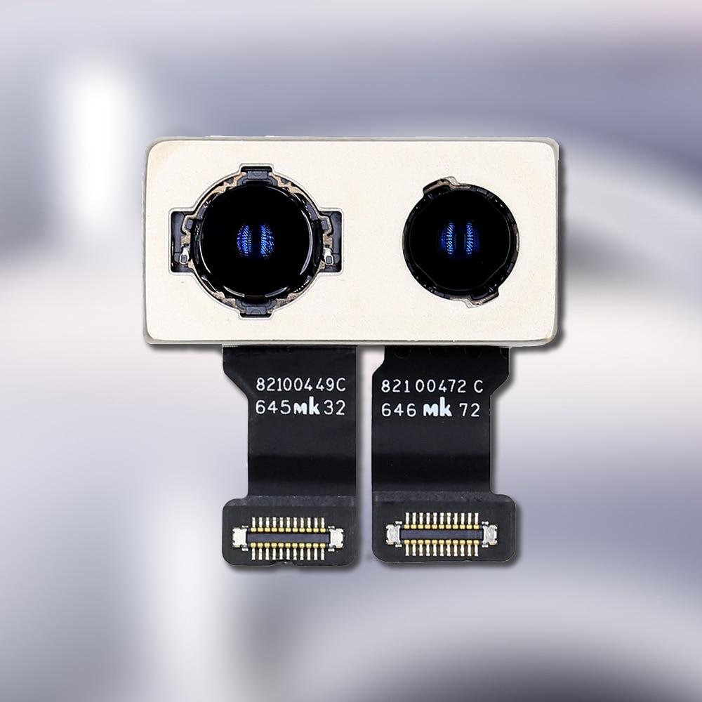 Original Test Back Rear Camera With Flash Module Sensor Flex Cable Replacement Parts for iPhone 11 Pro X XR XS 7 8 Plus