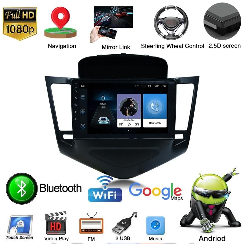 Electrónica de coche 9 Android 10,0 unidad principal estéreo para Chevrolet Cruze Holden Radio de coche GPS Navi T3 Cortext A7 4 núcleos 1,2 GHz